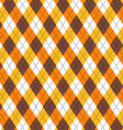 Candy Corn Argyle vector image