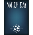Soccer Theme Background vector image