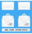 E Mail Icons Set vector image