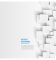 square Abstract background card blue vector image