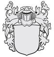 aristocratic emblem No29 vector image