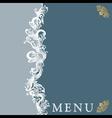 menu20 vector image