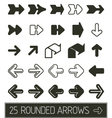 Rounded Arrows collection vector image vector image