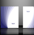 Blue Business Templates vector image vector image