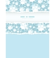 Shiny diamonds vertical torn frame seamless vector image