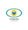 optic media design vector image