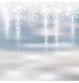 light silver and white christmas background with vector image