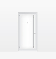 White door vector image vector image