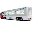 al 0608 truck vector image vector image