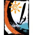 surfing vector image