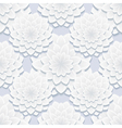 Decorative seamless pattern with gray flowers vector image vector image