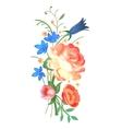 Flower arrangement vector image