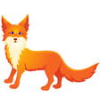 Red fox vector image vector image