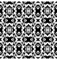 Abstract monochrome pattern vector image vector image