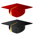Graduation school hat vector image