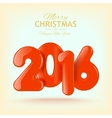 Happy New Year and Merry Christmas Volume vector image