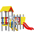 vector children playground vector image vector image