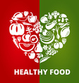 HealthyFood vector image