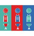 basketball desing vector image