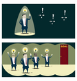 Business Idea series Business Team 8 concept vector image