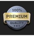 Premium Quality 100 Label vector image