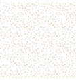 White hand drawn pattern with random splatters vector image