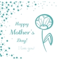 Dandelion Mothers Day vector image