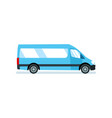 car for transportation of passengers materials vector image