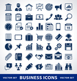 Smple business icons vector image