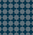 3d seamless pattern in arabic style vector image