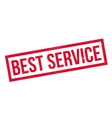 Best Service rubber stamp vector image