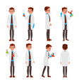 professional scientist modern young worker vector image