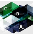 triangle compostiion vector image