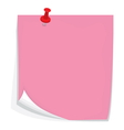 Sticky note6 vector image vector image
