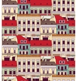 City buildings down town color seamless pattern vector image vector image