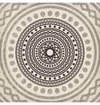 Asian mandala background vector image
