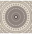 Asian mandala background vector image