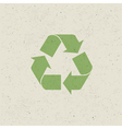 recycled design set vector image