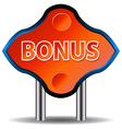 Unique bonus icon vector image vector image