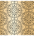 Abstract graphic classic pattern vector image