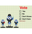 Market research Vote vector image