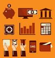 banking vector image