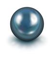 Black pearl vector image