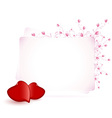 Happy Valentines Day Floral vector image
