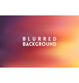 horizontal wide multicolored blurred background vector image