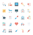 Medical and Health Colored Icons 1 vector image