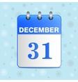 New-year calendar icon