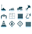 Set of construction icon vector