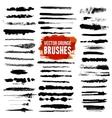 Brush Style Set vector image