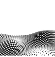 Halftone background for text eps10 vector image